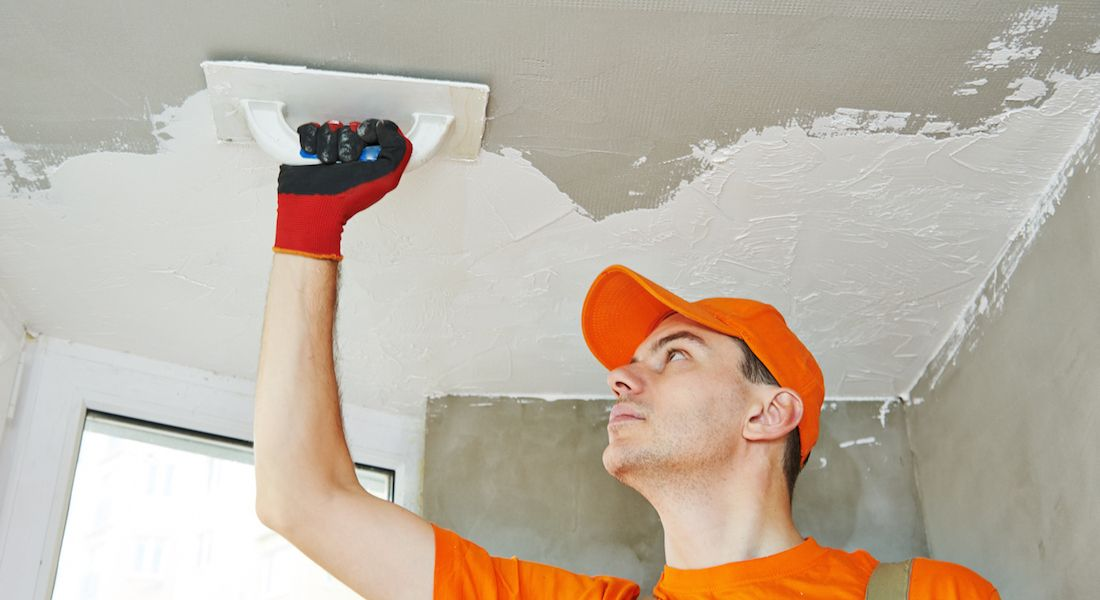 Ceiling Repair and Finishing